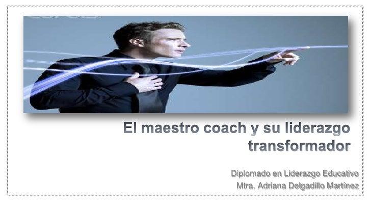 Resultado de imagen para maestro coach