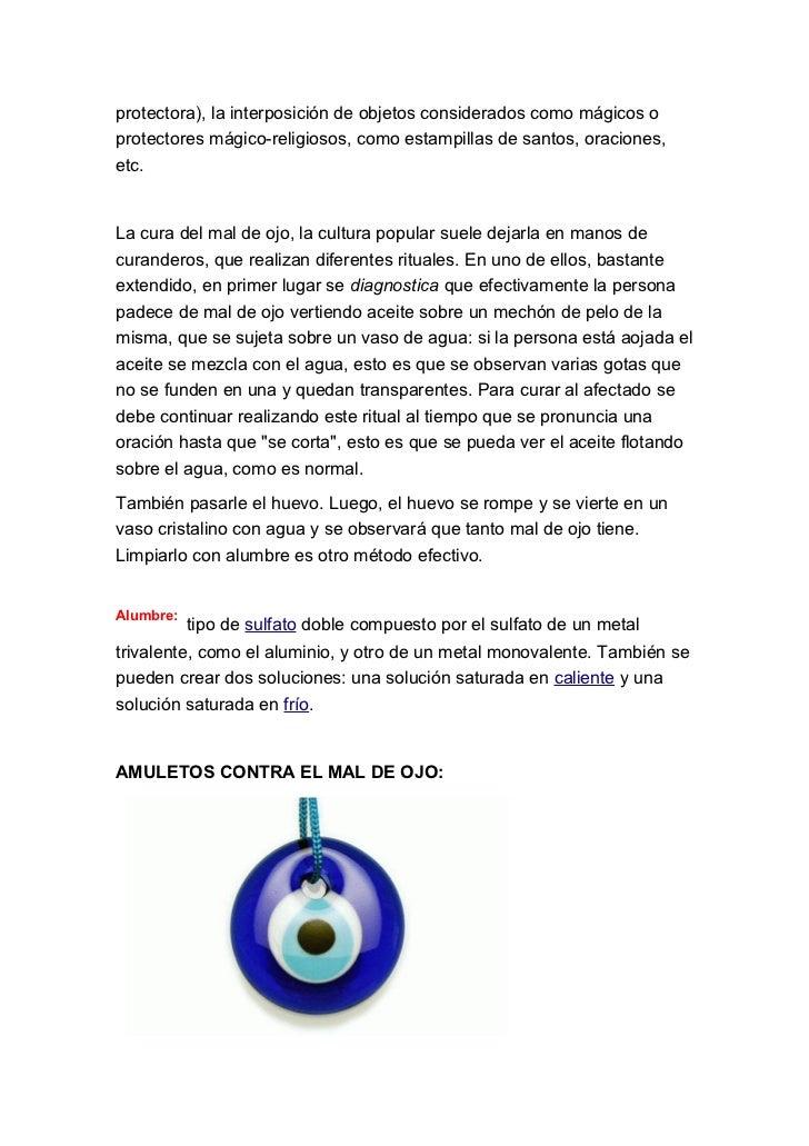 El mal de ojo - Remedios contra la mala suerte ...