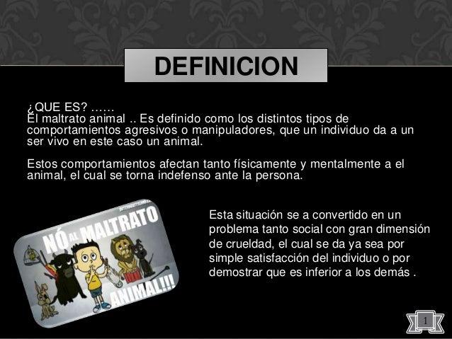 El maltrato animal 2013 for Definicion de espectaculo