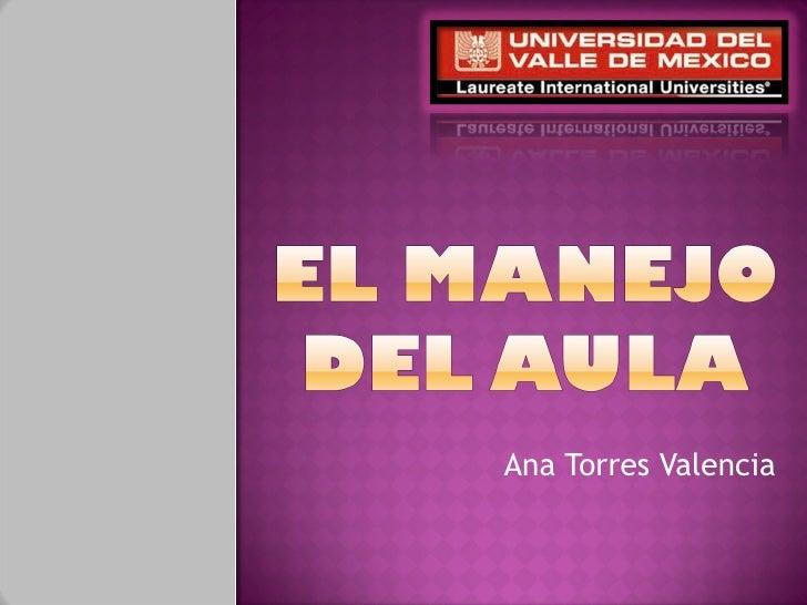 Ana Torres Valencia