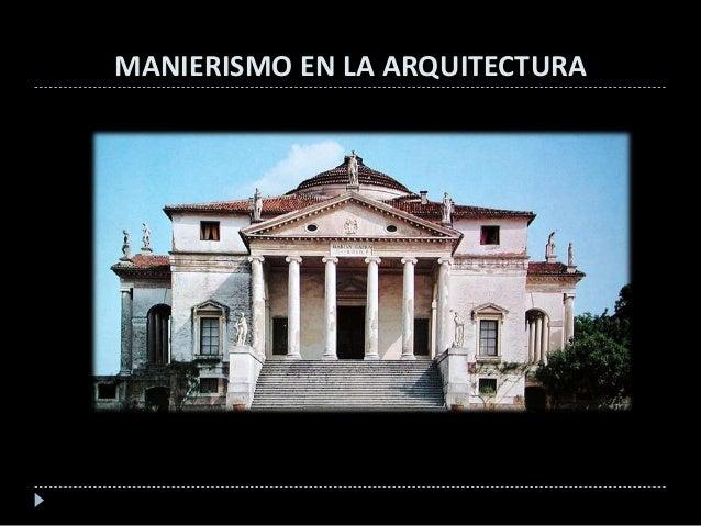 El Manierismo En La Pintura Escultura Y Arquitectura