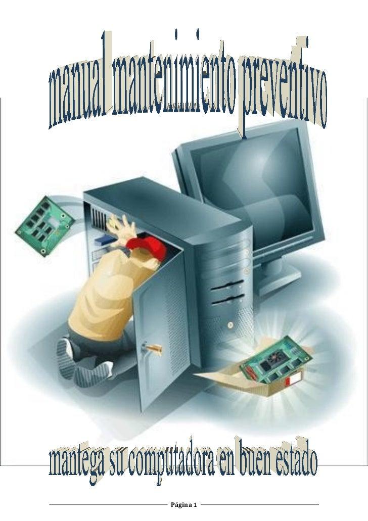 manual de mantenimiento preventivo rh es slideshare net manual de mantenimiento preventivo de computadoras manual de mantenimiento preventivo y correctivo de computadoras