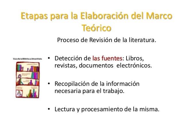 EL MARCO TEORICO REFERENCIAL