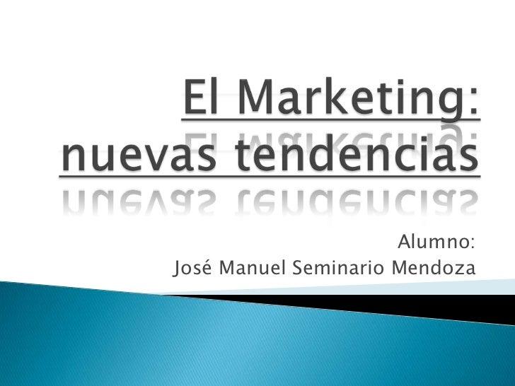 Alumno:José Manuel Seminario Mendoza