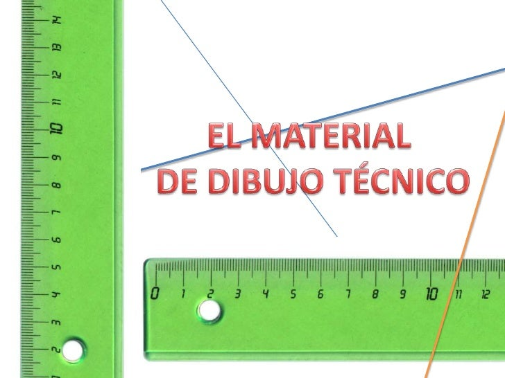 El material de dibujo tcnico