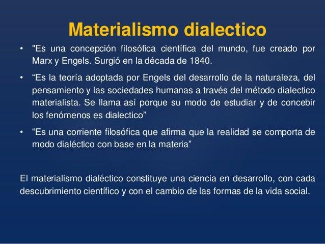 Resultado de imagen de materialismo dialectico.Federico Engels.