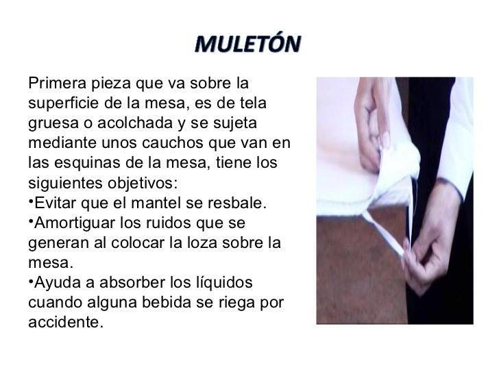 El material profesional ean - Muleton para mesa de comedor ...