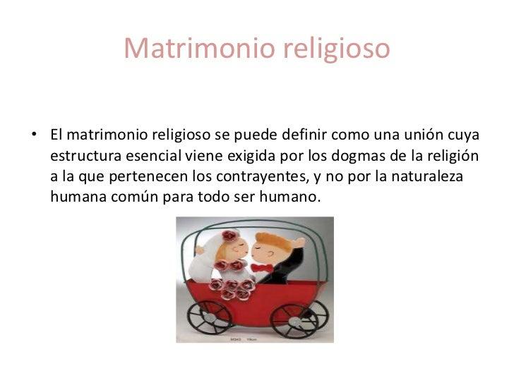 Matrimonio Definicion : El matrimonio