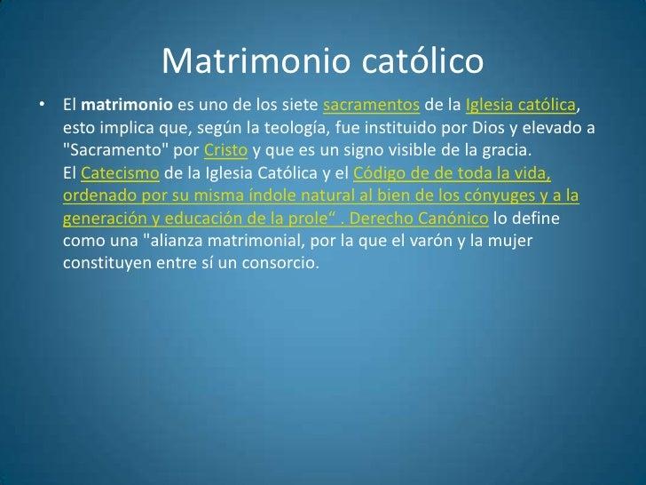 Matrimonio Q Significa : El matrimonio