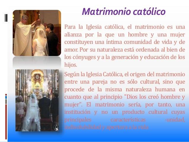 Matrimonio Catolico Origen : El matrimonio