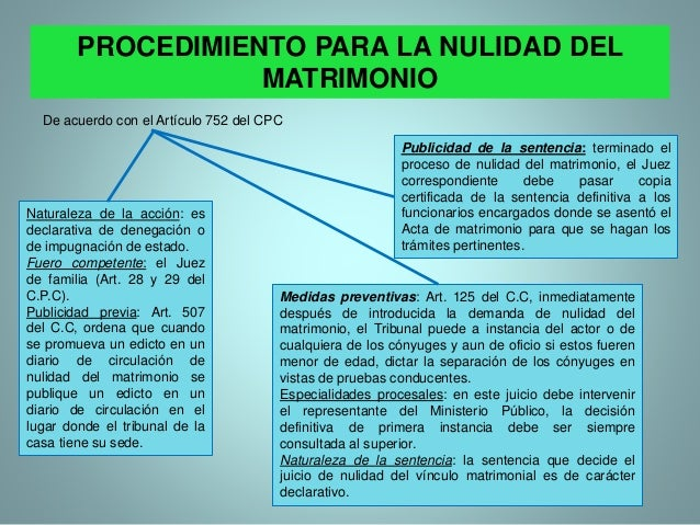 Matrimonio In Articulo Mortis : El matrimonio