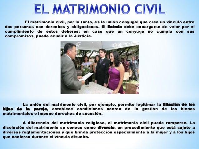 Diferencias Entre Matrimonio Romano Y El Venezolano : El matrimonio