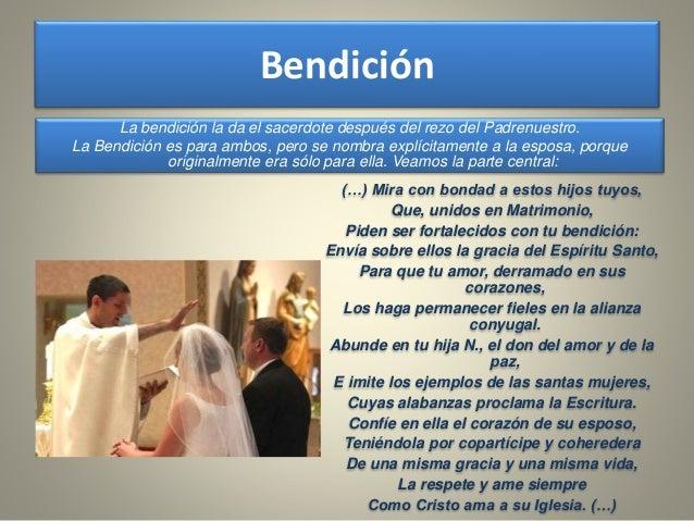 Bendicion Matrimonio Biblia : Sacramento del matrimonio