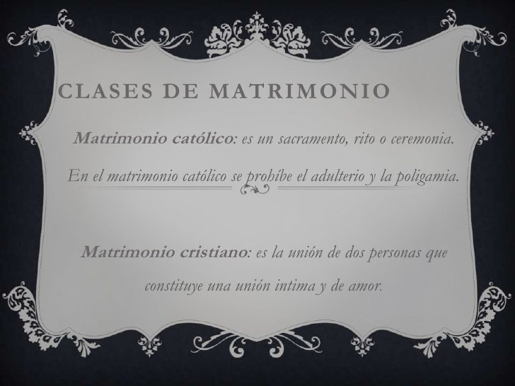Matrimonio Catolico Y Civil : El matrimonio en derecho civil