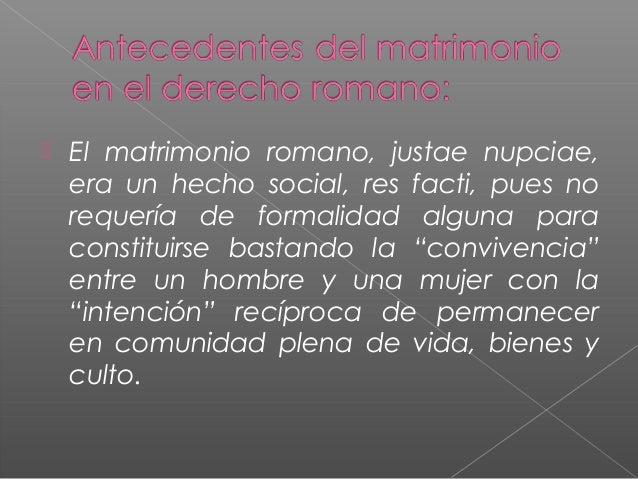 Matrimonio Romano Slideshare : El matrimonio nacimiento derechos y obligaciones su