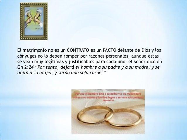 El matrimonio power point Slide 2
