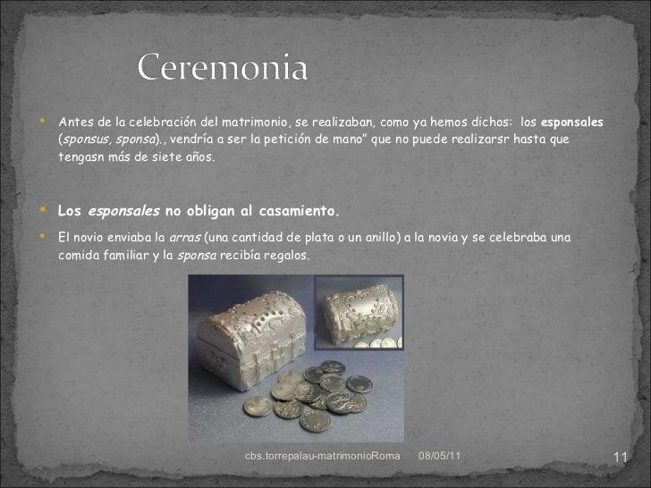 El Matrimonio Romano : El matrimonio romano