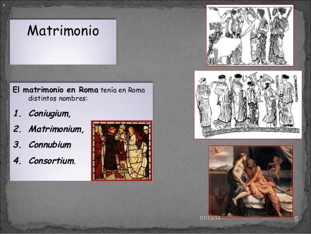 Matrimonio Romano Concepto : El matrimonio romano