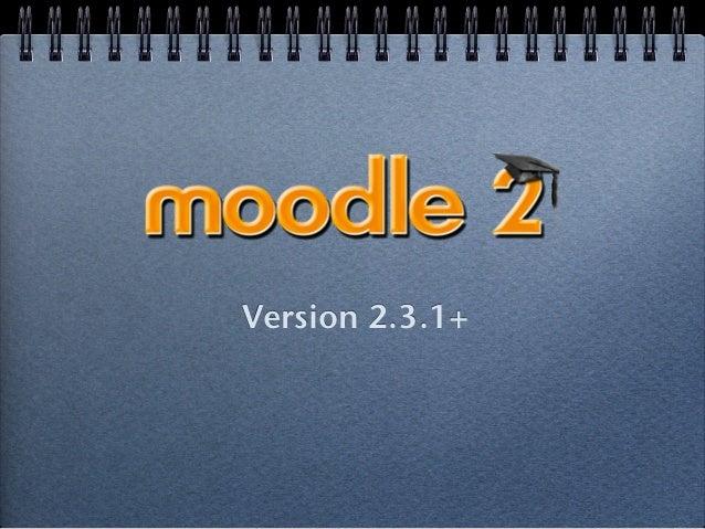 Version 2.3.1+!