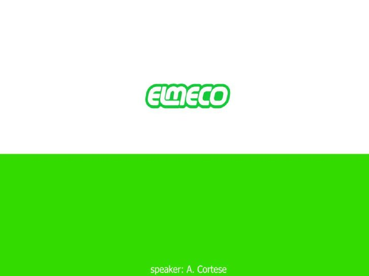 Elmeco - Exceptional Frozen Beverage Dispensers from Italy