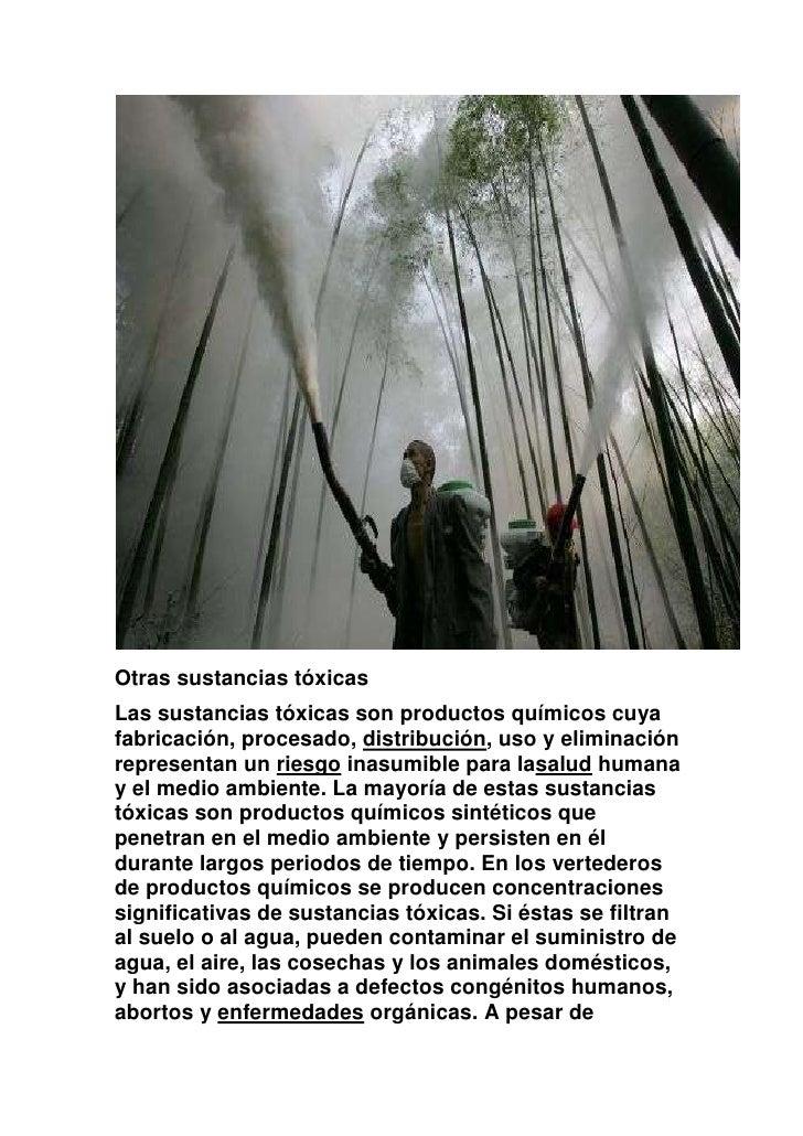 El medio ambiente