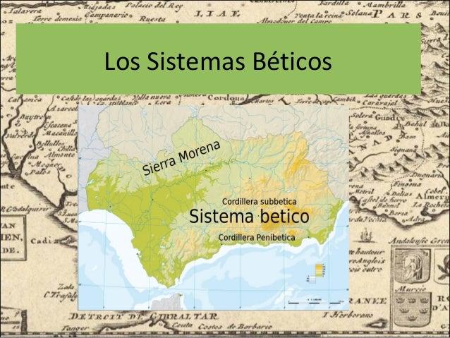 Sistemas Beticos Mapa Fisico.Sistemas Beticos Mapa Fisico Mapa