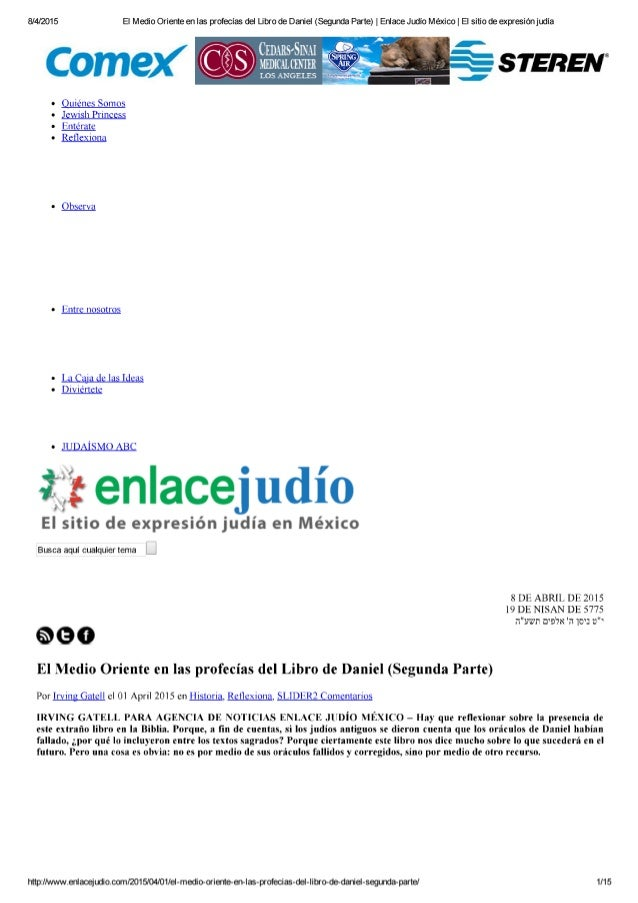 8/4/2015 EI Medio Oriente en las profecías del Libro de Daniel (Segunda Parte) |  Enlace Judío México |  EI sitio de expre...