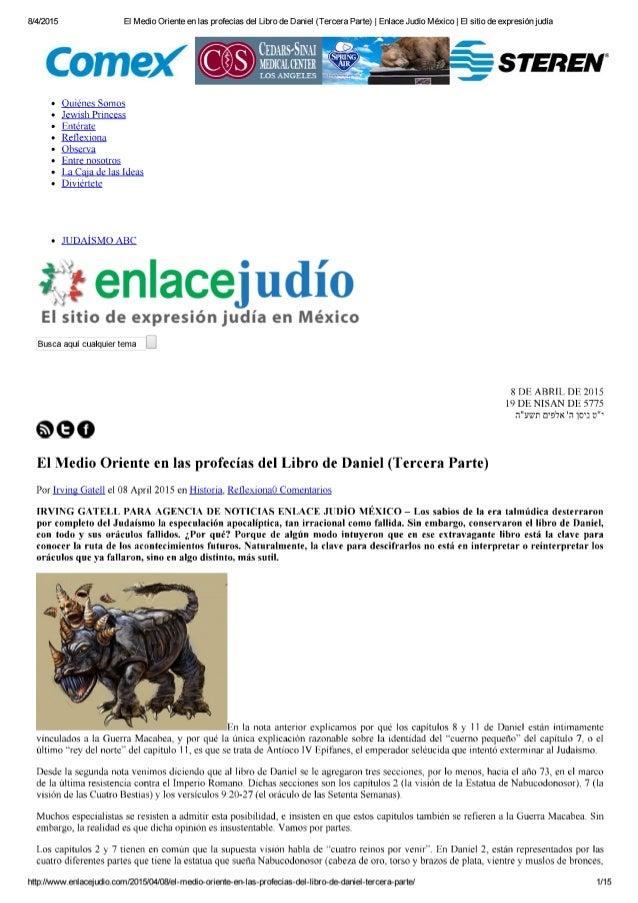 8/4/2015 EI Medio Oriente en las profecías del Ubro de Daniel (Tercera Parte) |  Enlace Judío México |  EI sitio de expres...