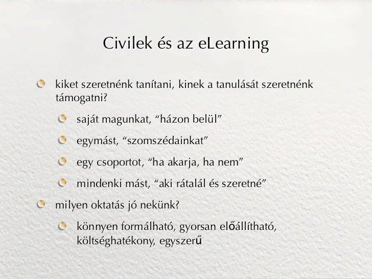 E-learning megoldások Slide 2