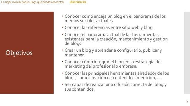 El mejor manual sobre Blogs que puedes encontrar Slide 3