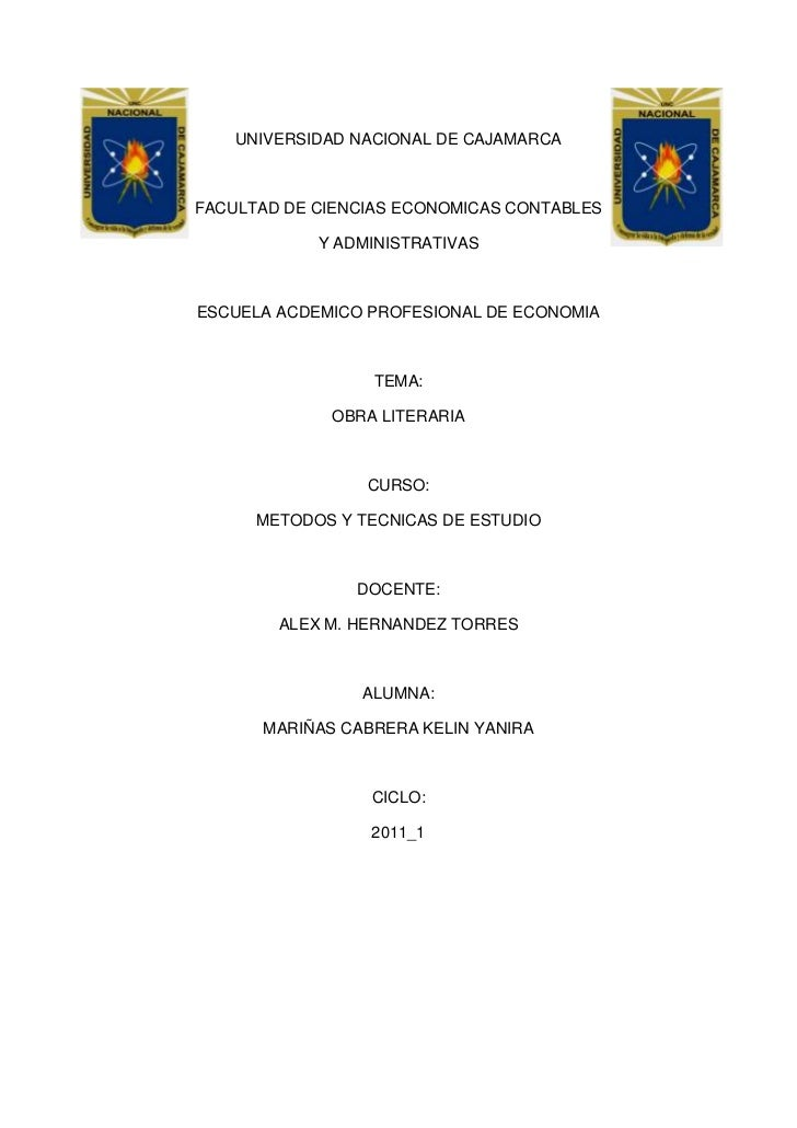 4711065-394970-318135-394970UNIVERSIDAD NACIONAL DE CAJAMARCA<br />FACULTAD DE CIENCIAS ECONOMICAS CONTABLES<br />Y ADMINI...