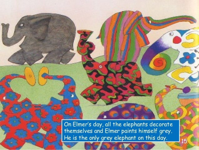 This is a graphic of Elmer the Elephant Printable with regard to 1st grade