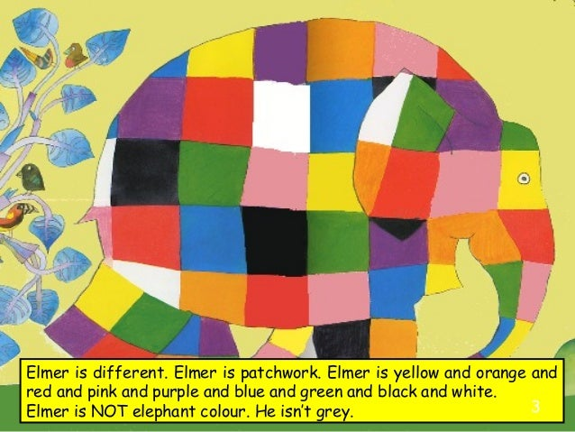 This is a photo of Elmer the Elephant Printable within preschool