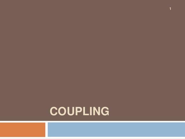 1COUPLING