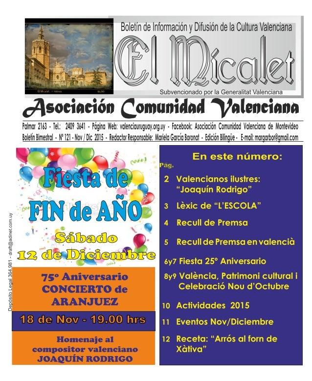 Boletin de lnformacién y Difusién de la Cultura Valenciana  K  J%¢W@@@fi  Subvencionado por la Generalitat Valenciana  07-I...