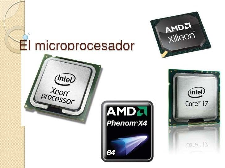 El microprocesador<br />