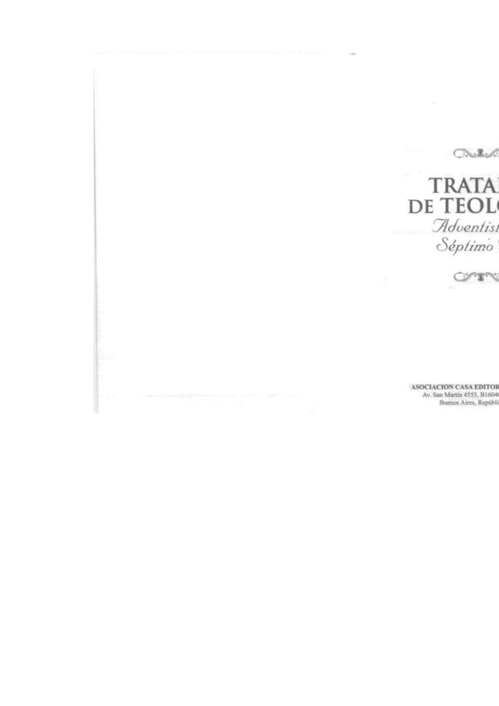 Tratado de Teologia - O Milênio