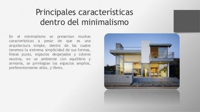 el minimalismo la corriente arquitect nica del momento On minimalismo arquitectura caracteristicas