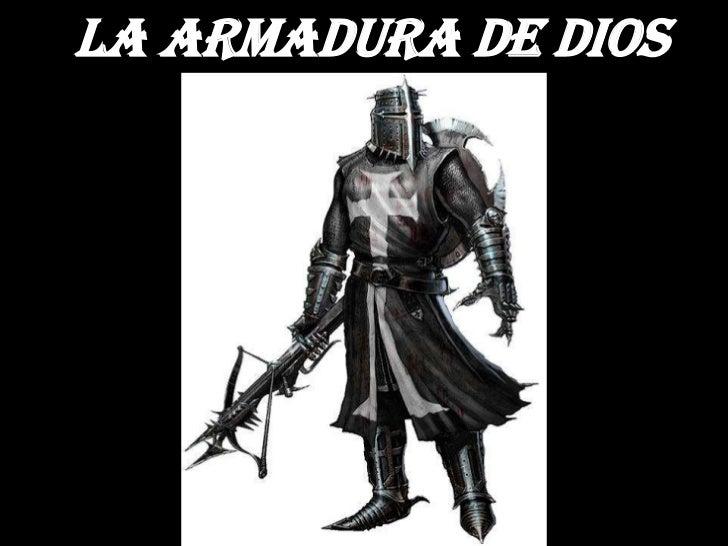 la armadura de Dios<br /><br />