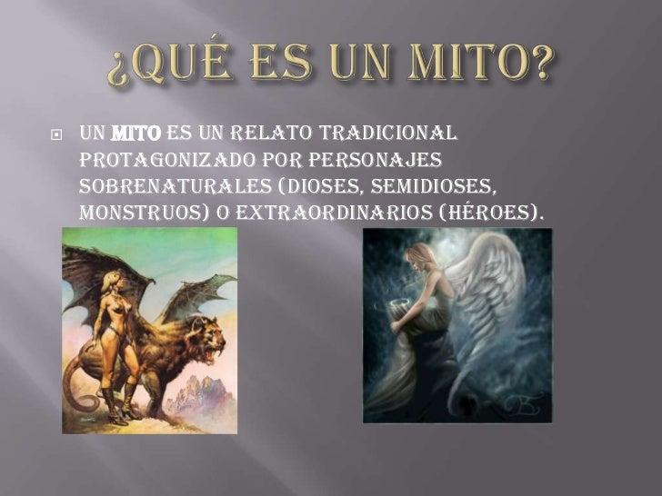 El Mito Y El Estereotipo