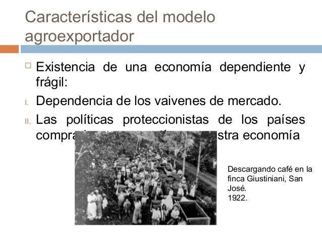 capitalismo agrario economia dependiente En este contexto, las limitaciones al avance de la economía capitalista  mucho  más dependiente de protección arancelaria [hora 2009b]), el sector agrario.