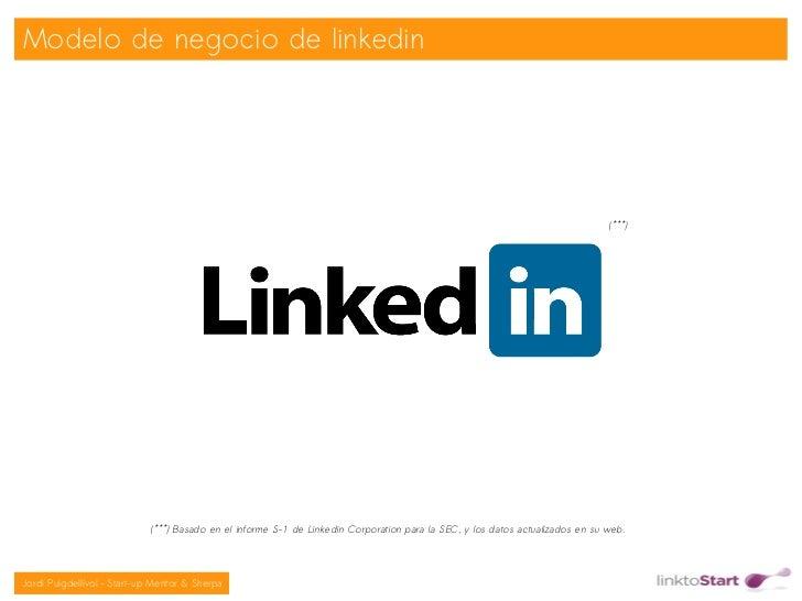 Modelo de negocio de linkedin                                                                                             ...