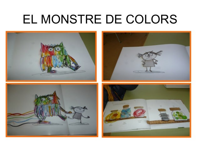 El monstre de colors Slide 2