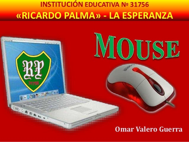 INSTITUCIÓN EDUCATIVA Nº 31756  «RICARDO PALMA» - LA ESPERANZA  Omar Valero Guerra