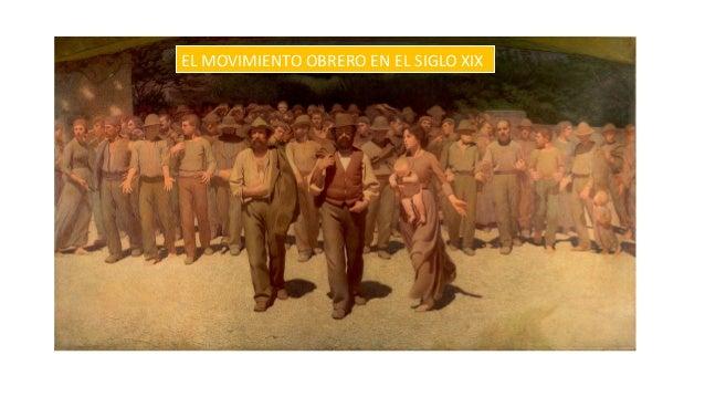 EL MOVIMIENTO OBRERO EN EL SIGLO XIX