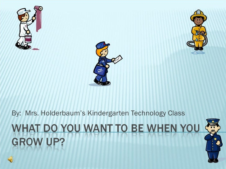 By:  Mrs. Holderbaum's Kindergarten Technology Class