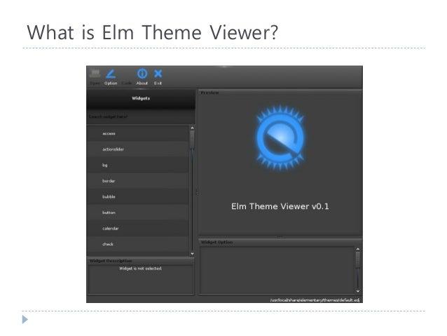 제 2회 한국 EFL 세미나 - 5. Elm Theme Viewer (서주영) Slide 3