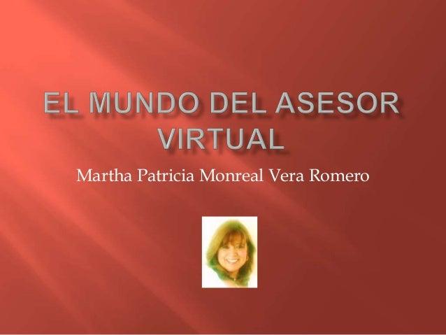 Martha Patricia Monreal Vera Romero