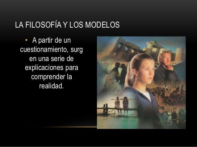 Análisis El mundo de sofía Slide 2