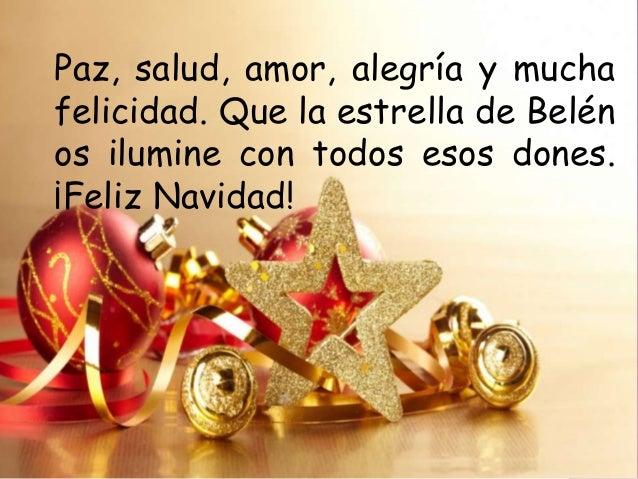Deseos Para Feliz Navidad.El Nazareno 2013